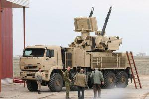 Pantsir S-1 (SA-22) picture via www.armyrecognition.com